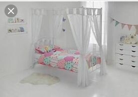Mia Princess 4 Poster Bed with mattress