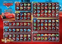 Disney Cars / Cars 2 Diecast or Wooden Cars