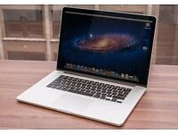 "MacBook Pro 15"" Retina - Highest Spec! - 2.7GHz i7 Quadcore, 16GB ram, 768GB Flash (nearly 1TB)"