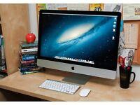 27 inch iMac mid 2011 4GB RAM 1 Tb Hard Drive