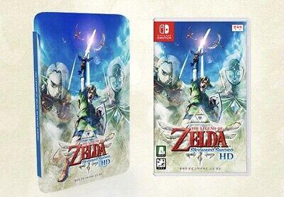 The Legend of Zelda Skyward Sword HD+Steelbook Korean Switch English Support
