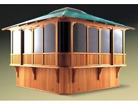 7ft glass house royal hot tub gazebo