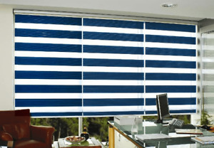 Zebra Shades & California Shutters