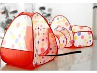 3 in 1 ball pool tent and tunel