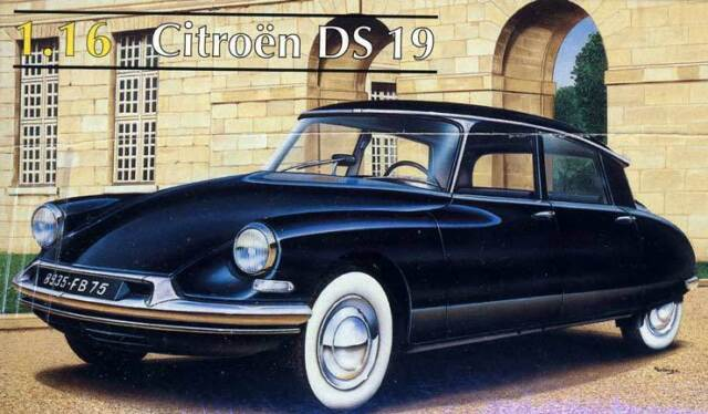Heller - Citroen DS 19 DS19 Modell-Bausatz - 1:16 NEU OVP Tipp Göttin der Autos