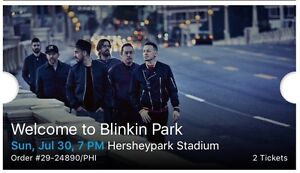 Blink 182 with Linkin Park Tickets!