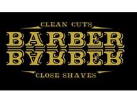 FREE hair cuts and wet shaves