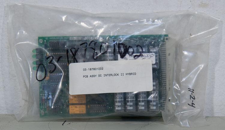 New Asm Pn: 03-187801d02 Pcb Assy Assembly Dc Interlock Ii Hybrid Circuit Board