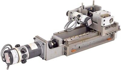 Precision 7x1-12 Travel Motorized 2-axis Ball Screw Linear Translation Stage