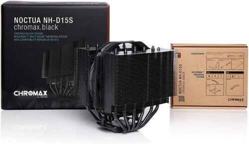 Noctua NH-D15S chromax.Black, Premium Dual-Tower CPU Cooler with NF-A15 PWM 140m