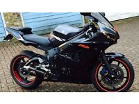yamaha yzf R6 millage only 1460 please read below