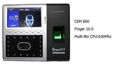 Zksoftware Iface303 1500faces Finger Printer Time Attendance Multi-biometric