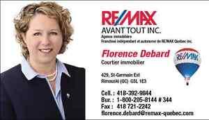 Florence Debard Courtier Immobilier Remax Baie des Chaleurs
