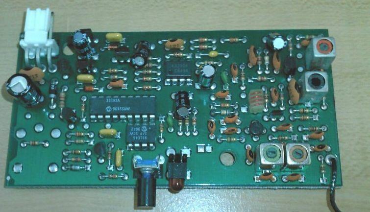 GENIE/OVERHEAD DOOR RECEIVER BOARD - MODEL 31171R