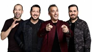 Impractical Jokers - Nov 12 Sony Centre - Row HH