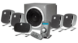 Logitech Z-680 THX 5.1 Surround system complete Z 680