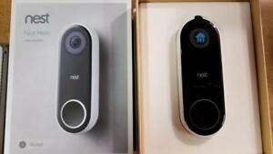 Nest Hello Wi-Fi Video Doorbell-SEALED BOXED NEW-LAST ONE