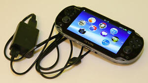 Playstation Vita With Charger, 4 GB Memory Card And Game!