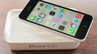 Iphone 5c White 8 gb With rogers no contract