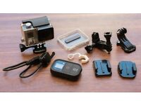 Gopro Hero 3 Black Edition with accessories and 4 batteries