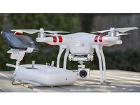 Dj phantom 3 drone 3 months old with box