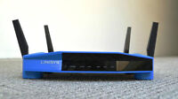 FS Linksys WRT1900AC router very fast and great coverage