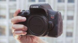 Canon EOS Rebel T6i Camera/DSLR - Mint Condition!