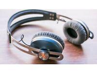 Senheisser momentum on ear headphones