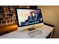 """iMac27"""" 5k 1tb fusion drive 3.2ghz still has warranty mint condition only used a few times"""