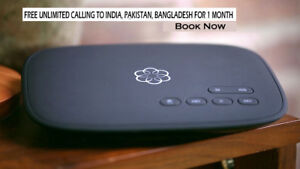 FREE UNLIMITED Calling to India, Pakistan, Bangladesh for 1Month