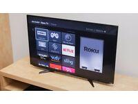 43 inch Sharp Smart TV.