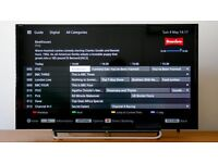 Sony Bravia 40inch smart led tv with box and remote an manuals