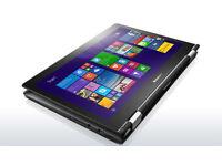 "Lenovo Yoga 500-14ISK, i5-6200U, 8Gb RAM, 1TB SSHD, 14"" touch screen with Windows 10 installed"