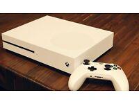 Xbox One s with FIFA 17 & GTA V