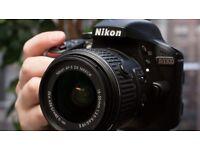 [PACKAGE] NIKON D3300 24.2MP Digital SLR Camera + lens 55mm f/1.8 + bag