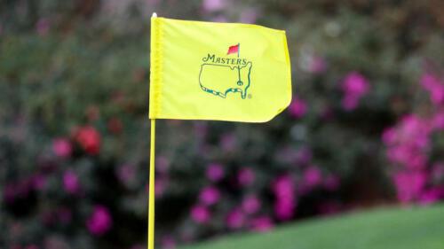 2020 Masters Golf: Monday Practice Round Badge(s)