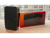 New Sonos Play 5 (Black) (2nd gen) in box with warranty of 2 years started Feb 2017
