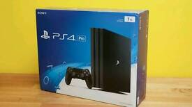 Brand New PS4 pro 1tb with COD 12months WARRANTY