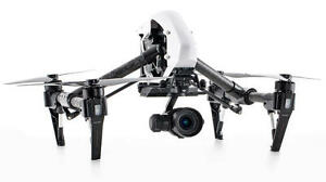 DJI Inspire x5 1 NEW  two remotes No Tax