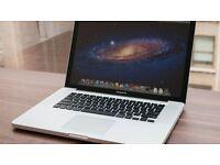 "MacBook Pro 15"" - 500GB - 8GB RAM / Core i7 / GOOD CONDITION"