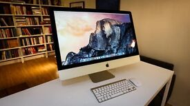 Apple iMac Slim**2015 5K** 27 inch i5 Quadcore 3.5 Ghz 16gb Ram 1TB Fusion Logic9 Adobe FinalCutProX