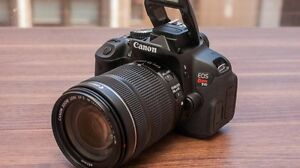 Canon EOS REBEL T4i with two lens and more!