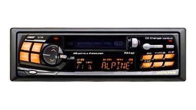 ALPINE TDM-9501RM RECEIVER, CASSETTE DECK, CD-CHANGER CONTROL M-BUS STANDARD