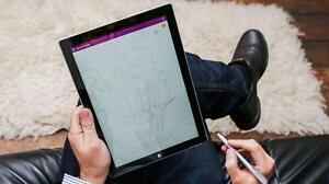 Microsoft Surface Pro 3 - Core i5 4300U 1.9 GHz - 128 GB SSD - 4 GB RAM - Windows 8.1 Pro - Silver - A GRADE CONDITION