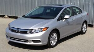 Honda Civic 2012  EX-L Navigation/Cuir/Toit ouvrant