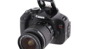 Camera CANON T3i + Objectif + Accessoires    *Kit complet*