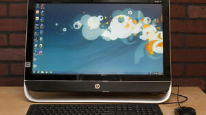 Quad Core 3.3G HP Pavilion 23 inch Desktop 23 inch LCD