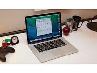 "MacBook Pro 15"" Retina (2014) 512GB SSD/ 16GB RAM / Core i7 GREAT CONDITION"