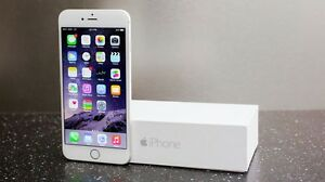 White iPhone 6 Plus Bell/Virgin 16GB