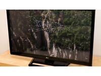 "LG. 50"" full HD Razor slim TV - wal"